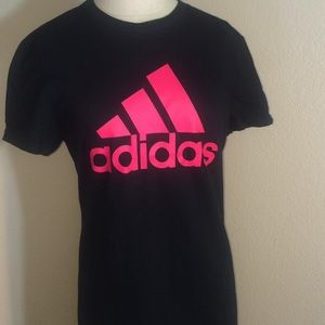 Adidas Climalite T-Shirt Shor Sleeve dark pink